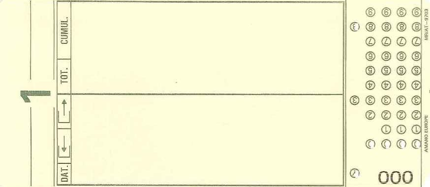 Stempelkort 7002 1 - DANTID