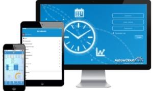 Mobil-tidsregistrering til app