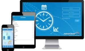 Timeregistrering til pc og mobiltelefon