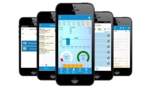 Mobil-tidsregistrering på app