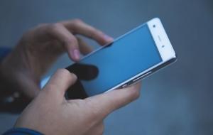 Mobil tidsregistrering på app