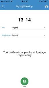 Simpel timeregistrering